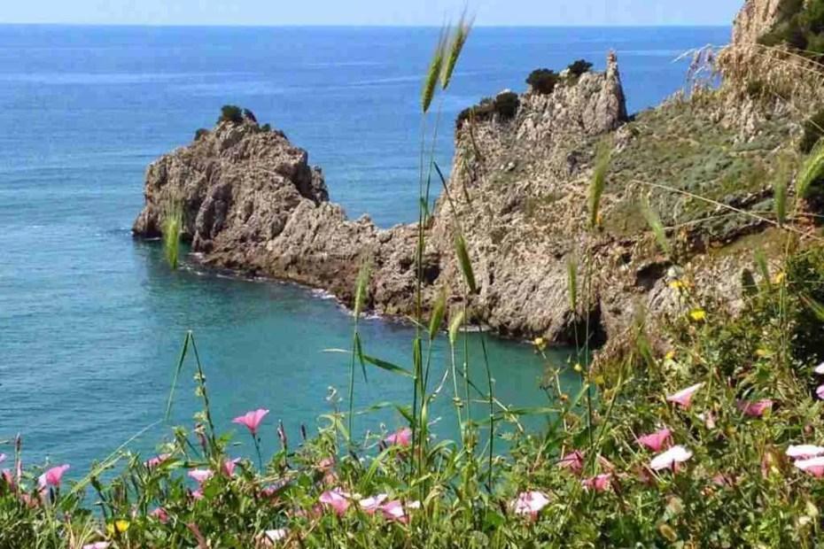 Cliffs near Sperlonga