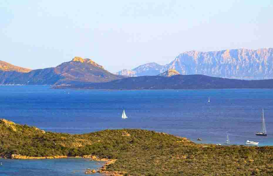Northeastern Sardinia (Gallura) a land of mountains and clear blue sea