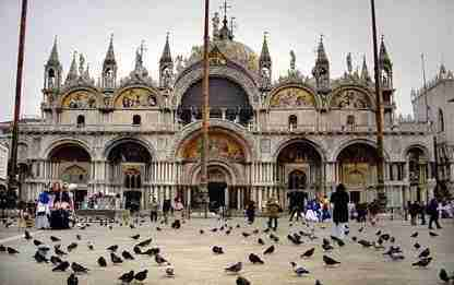 For the First Time in More Than 20 Years, the Facade of St. Mark's Basilica is Scaffold-Free