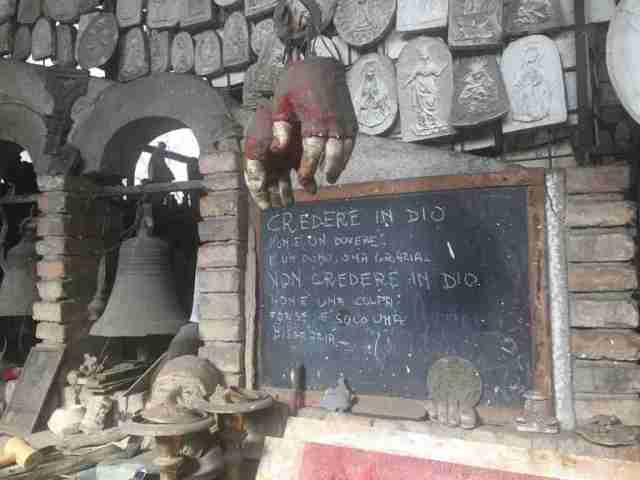Marinelli Workshop in Agnone