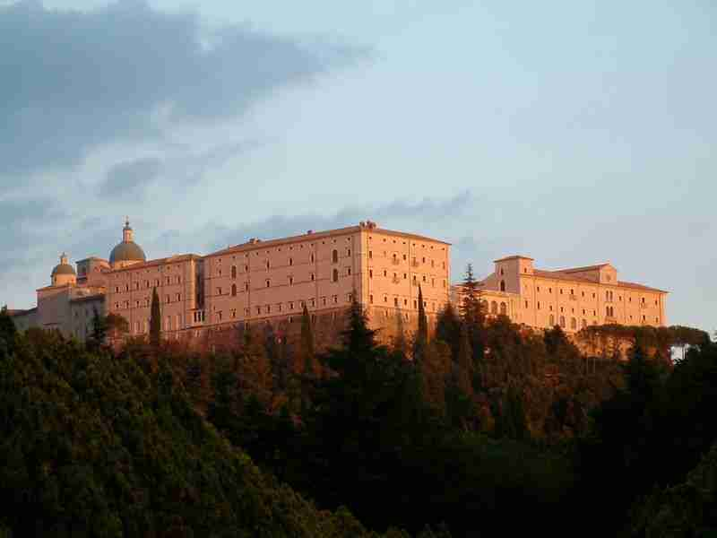 Monastery of Montecassino in Lazio, Italy