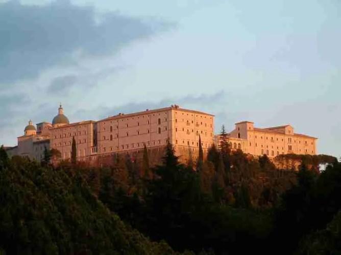 Monastery of Montecassino in Lazio, Italy