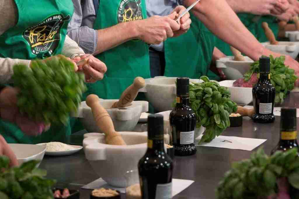 The Making O' the Green: Genoa's World Pesto Championship