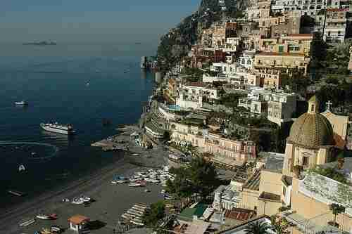Scenic Drive on the Amalfi Coast