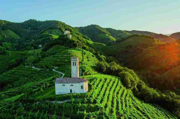 Prosecco Hills of Italy, a UNESCO World Heritage site