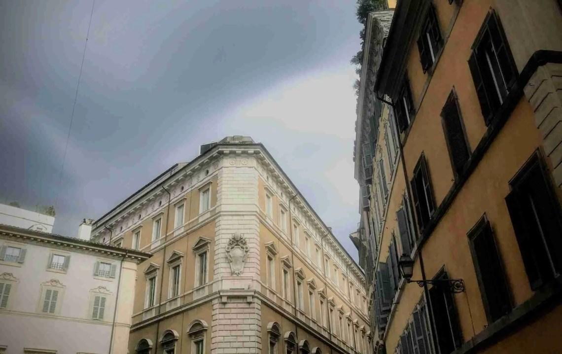 Rain Clouds Over Rome