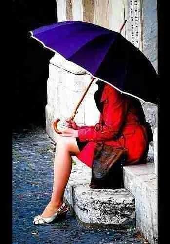 Rome When It Rains