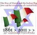 Star of David and the Italian Flag