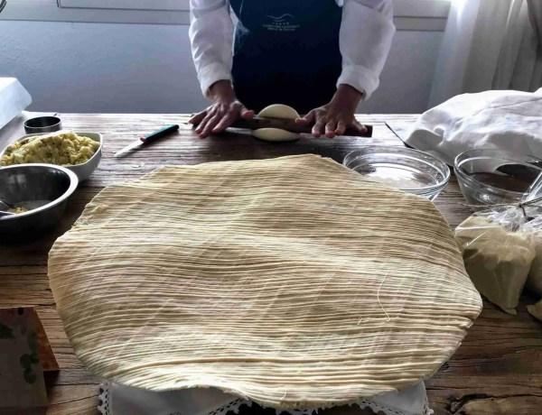 Su Filindeu pasta from Sardinia