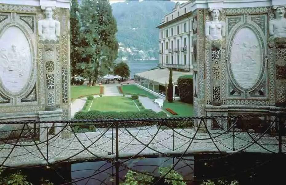 Villa d'Este at Lake Como in Lombardy
