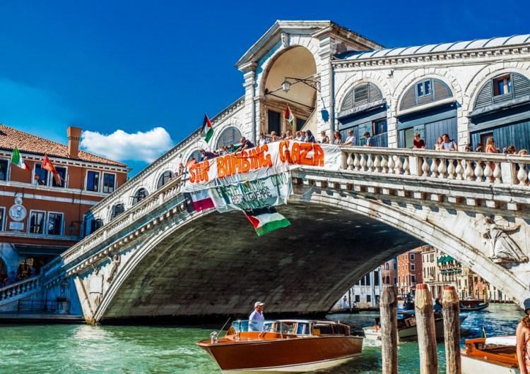 Basta Bombe su Gaza – Manifestazione a Venezia