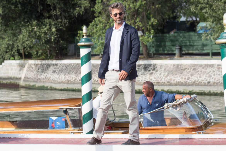 Kim Rossi Stuart oggi a Venezia. Foto: Giacomo Cosua