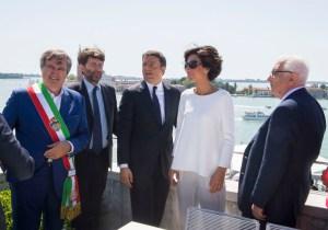 Patto per Venezia. Renzi e Brugnaro firmano la nascita di un nuovo partito di governo della città.