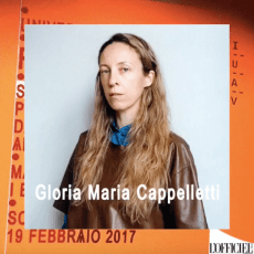 fashion media still Gloria Maria Cappelletti