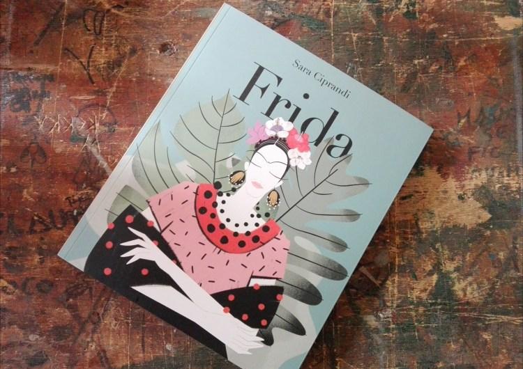 Frida illustrata da Sara Ciprandi