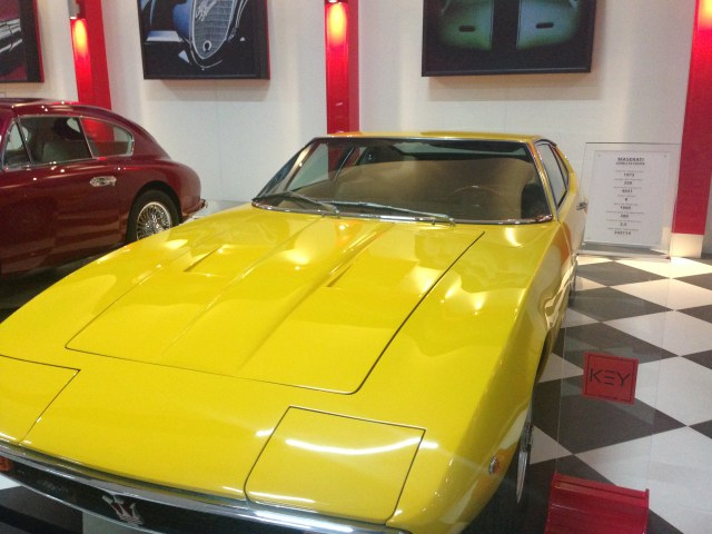 GHIBLI SS COUPE - 1973
