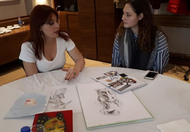 portfolio review NABA Cristina