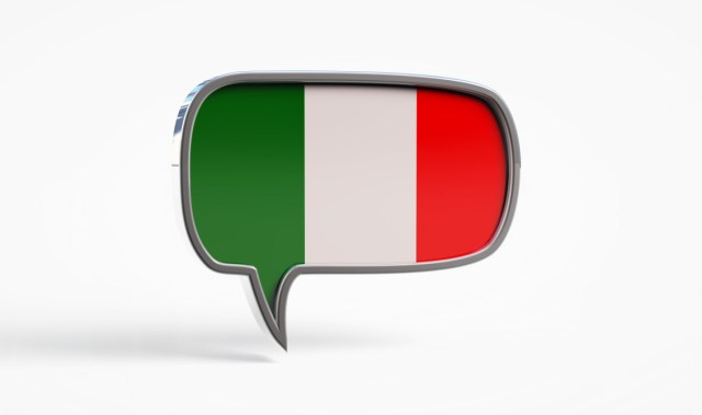 italian language chat