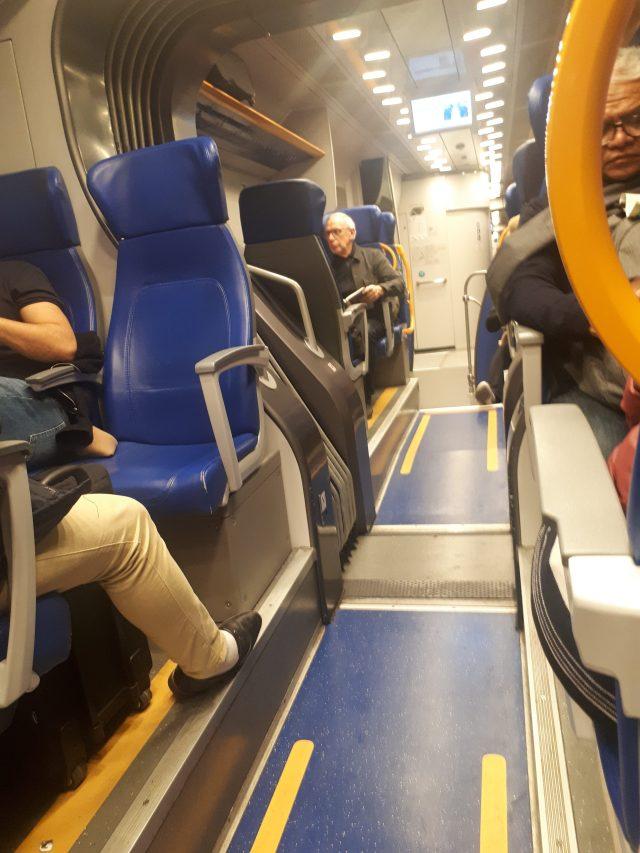 treno roma fiumicino termini