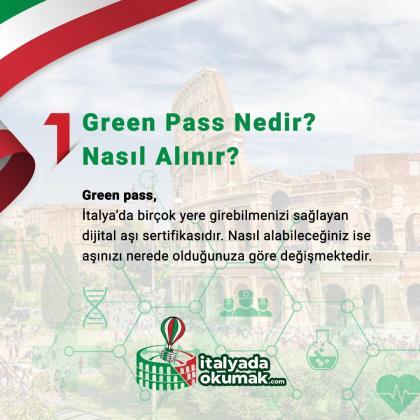Green pass nedir