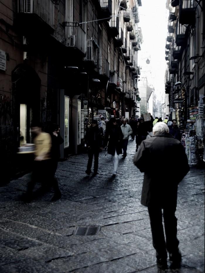 man on street-napoli-Italy on my mind
