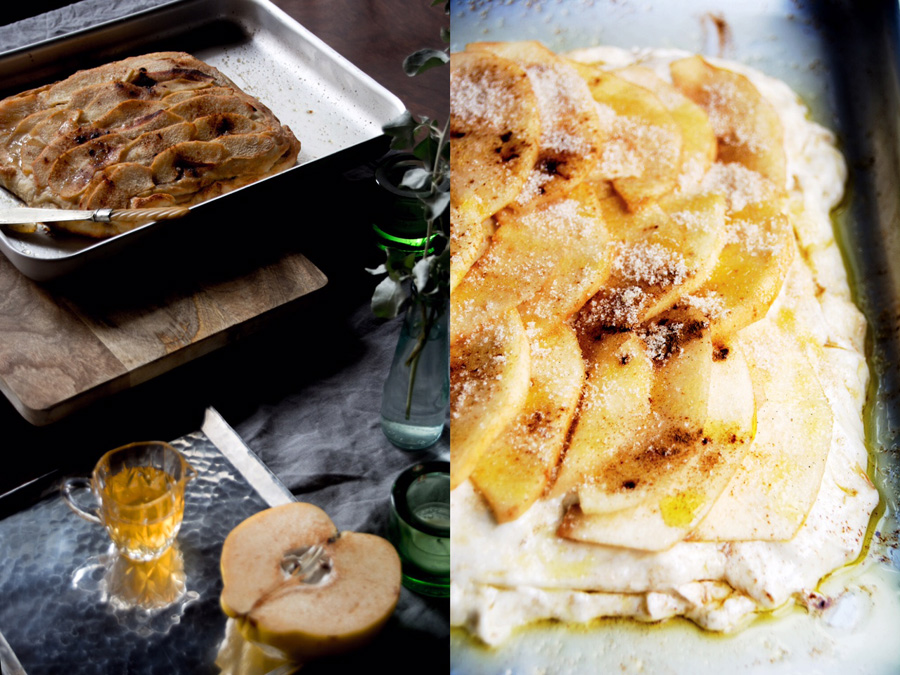 baking quince schiacciata-italy on my mind