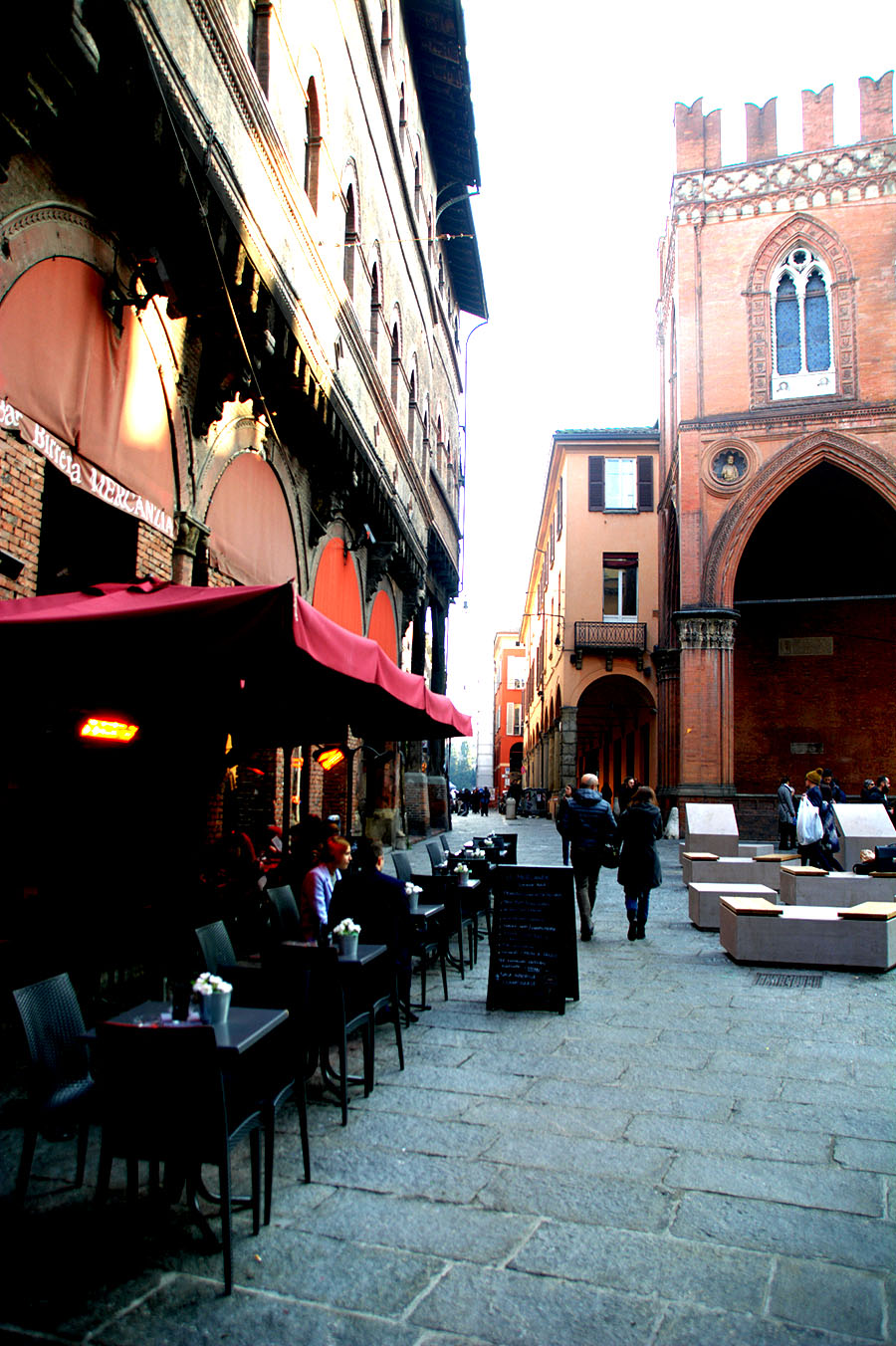 red brick towers bologna-italy on my mind