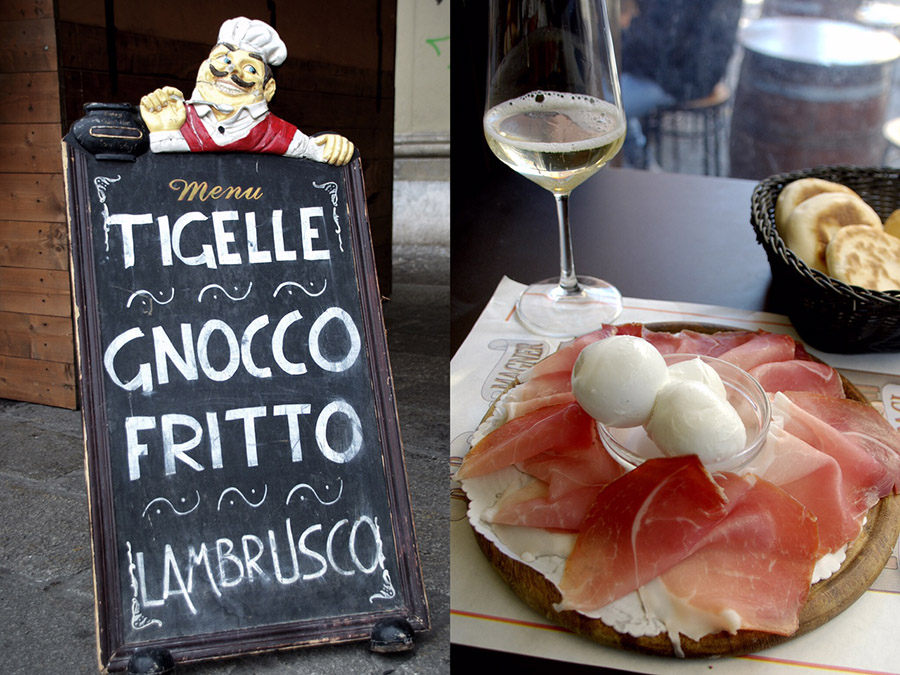 tigelle-prosciutto-bologna-italy on my mind