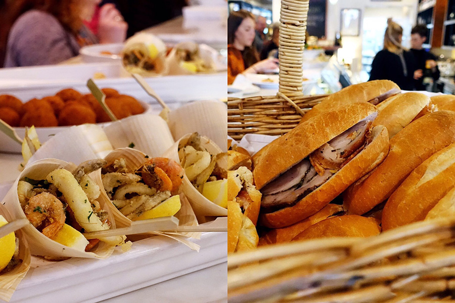 italian street food launch-enoteca sileno-italy on my mind