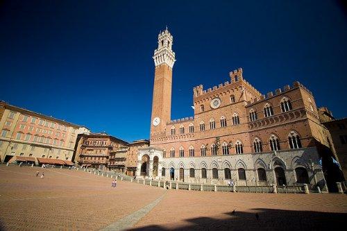 La torre del Mangia a Siena