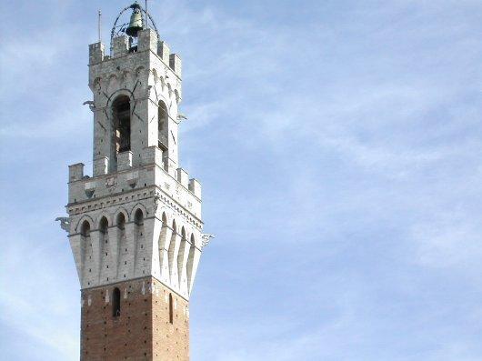 Torre del Mangia, palazzo Comunale a Siena