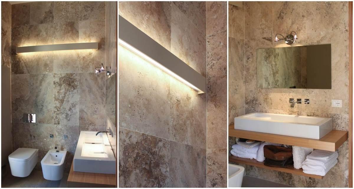 Bagno in pietra di rapolano sulla collina di fiesole - Pietre per bagno ...
