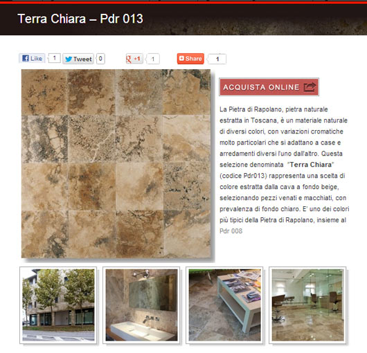 Pdr013 - pagina Web da www.pietredirapolano.com