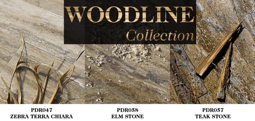 Woodline collection by Pietre di Rapolano