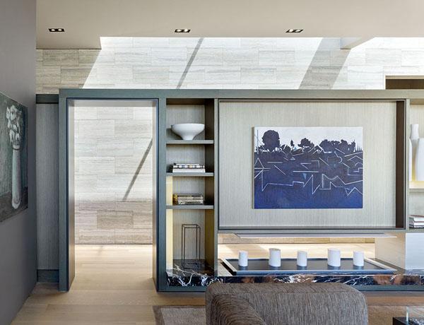 interni eleganti per la vostra casa con il travertino zebra silver grigio