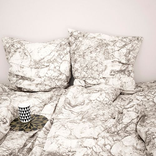 lenzuola cuscino marmo marble linen cushion