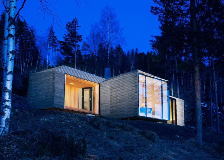 rivestimenti-in-basalto-Cabin-struttura-a-Norderhov-atelier-olso-studio