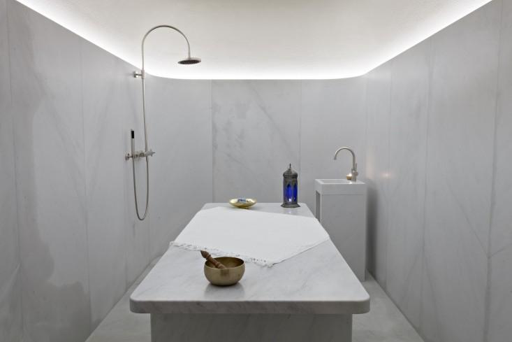 hammam spa centro benessere cafe royal londra david chipperfield marmo