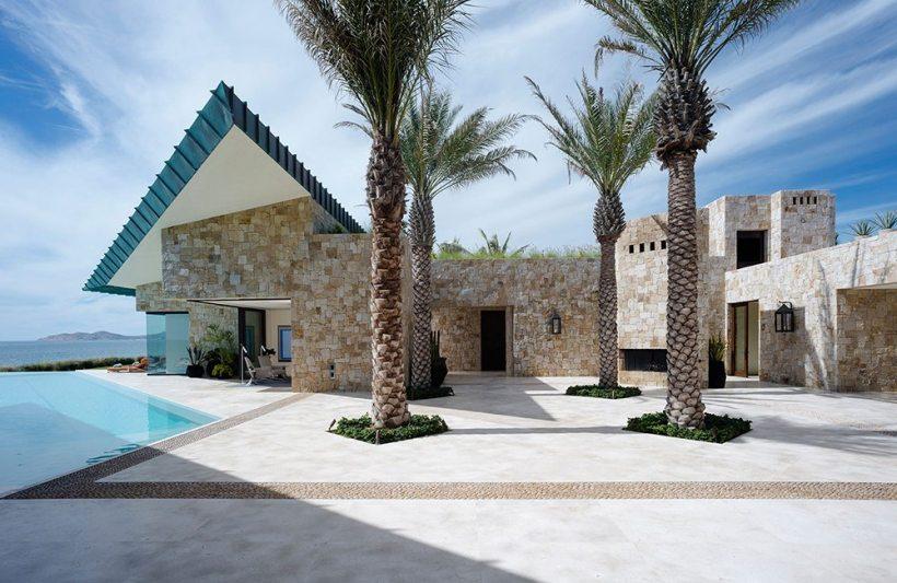 casa los cabos messico design lusso diego villasenor marble swimming pool