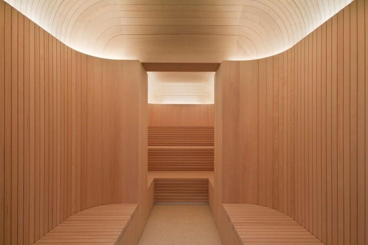 spa centro benessere cafe royal londra marmo legno