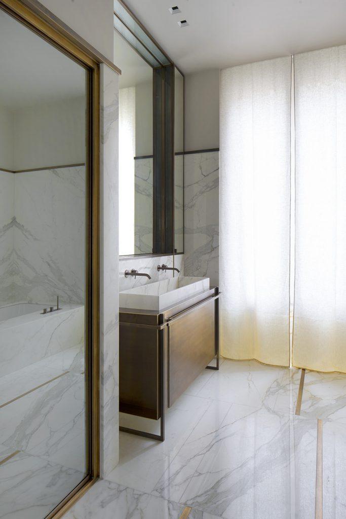 marmo bagno parigi interni designer