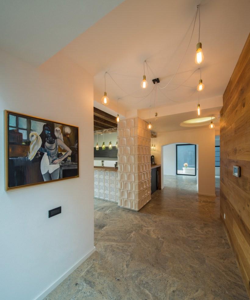 interni pavimenti in travertino silver g3 house lama architecture