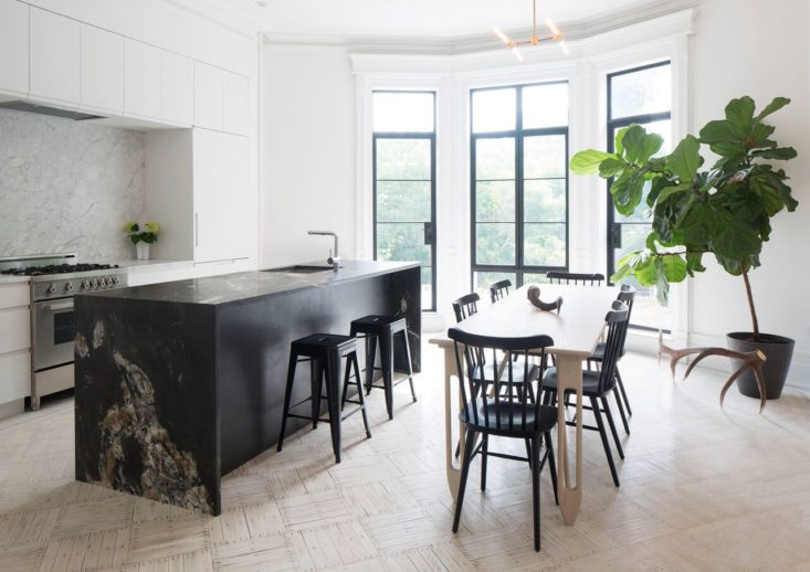 cucina dunsmuir cabinets rivestimento in marmo calacatta