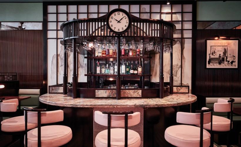 interni stile anni 30 ristorante londra studio brady williams