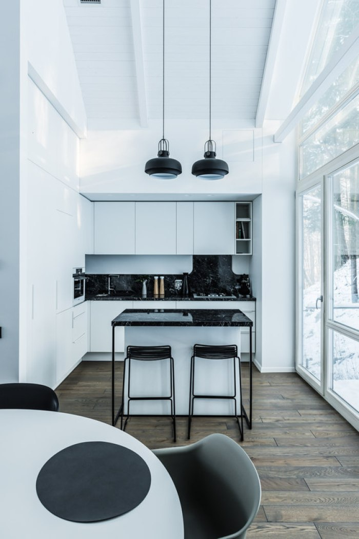 interni minimali dizaino virtuve cucina lituania