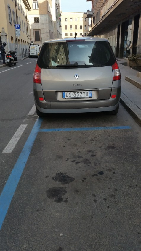 PARKING IN ITALY, DRIVING IN ITALY