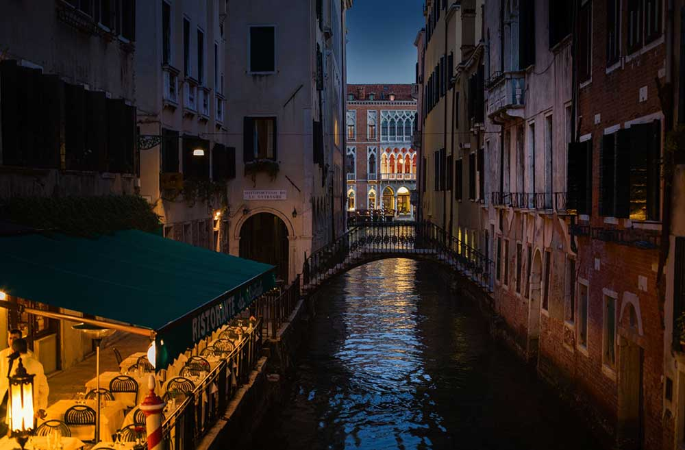 Venice at Night, ItalyWise
