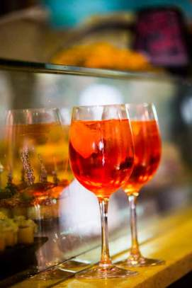 The Aperol Spritz is THE Signature Drink of Venice
