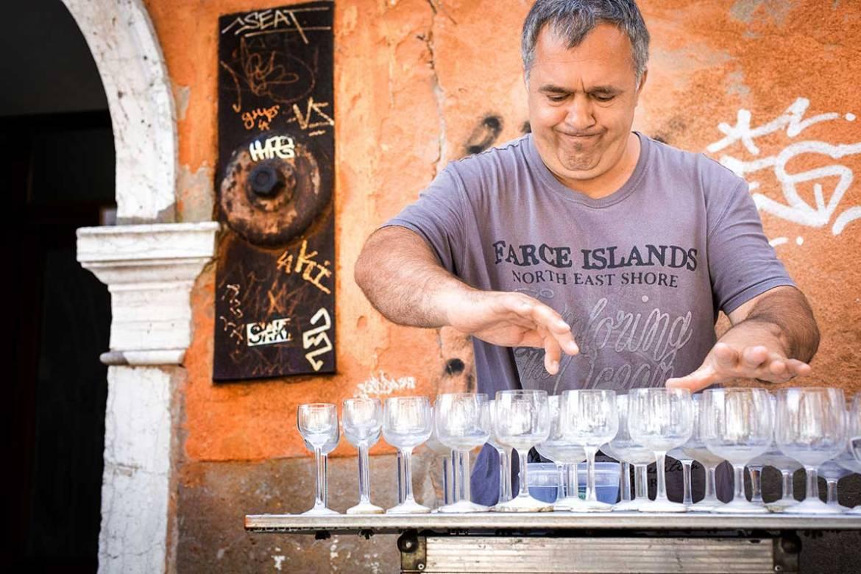 Venetian Street Performers