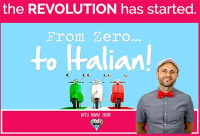Zero to Italian